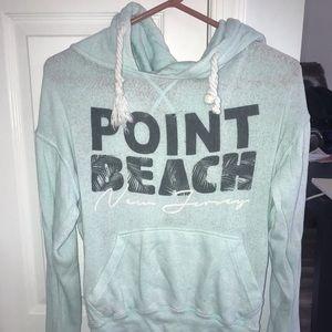 point beach hoodie